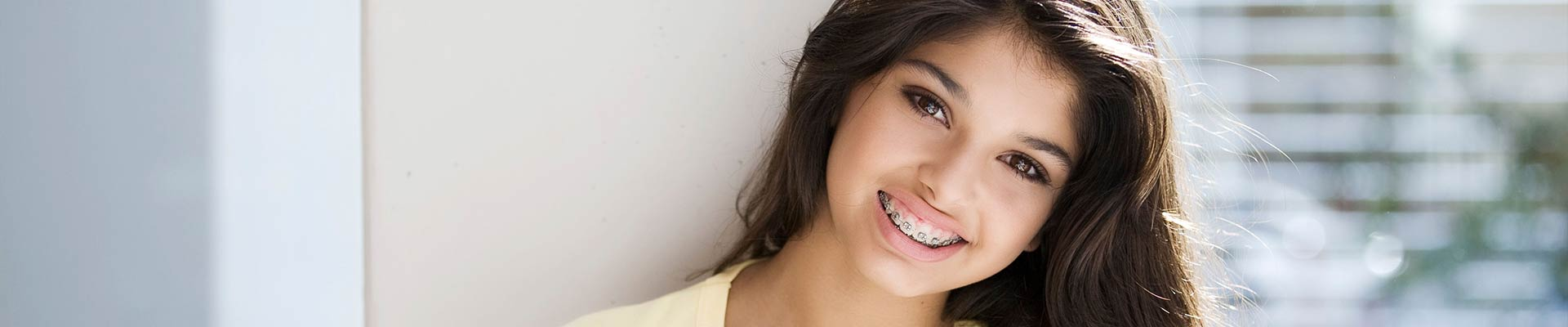 Girl with braces Cherre Orthodontics Ellisville MO